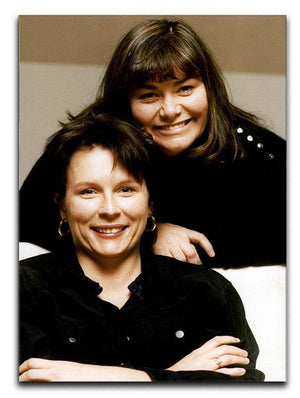 French and Saunders Canvas Print or Poster  - Canvas Art Rocks - 1