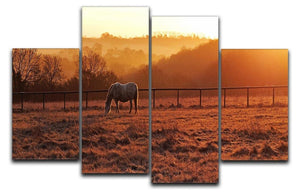 Frosty Morning 4 Split Panel Canvas - Canvas Art Rocks - 1