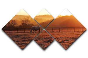 Frosty Morning 4 Square Multi Panel Canvas - Canvas Art Rocks - 1