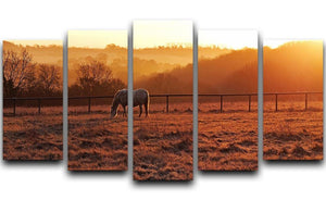 Frosty Morning 5 Split Panel Canvas - Canvas Art Rocks - 1