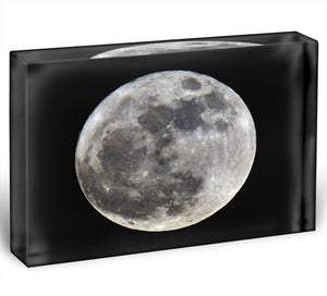 Full Moon Acrylic Block - Canvas Art Rocks - 1