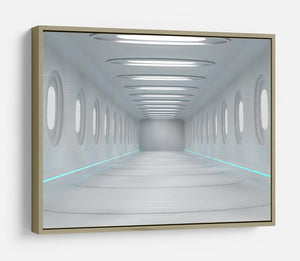 Futuristic interior HD Metal Print