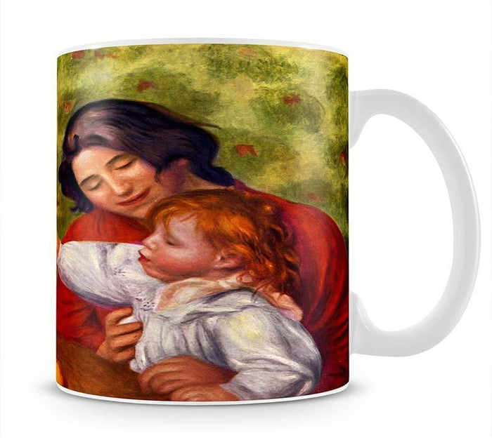 Gabrielle Jean and a girl by Renoir Mug