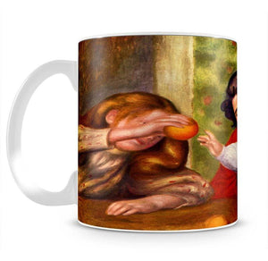 Gabrielle Jean and a girl by Renoir Mug - Canvas Art Rocks - 2