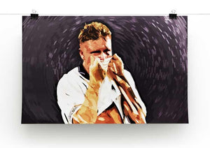 Gazza Tears at Italia '90 Print - Canvas Art Rocks - 2
