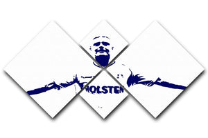 Gazza 4 Square Multi Panel Canvas  - Canvas Art Rocks - 1
