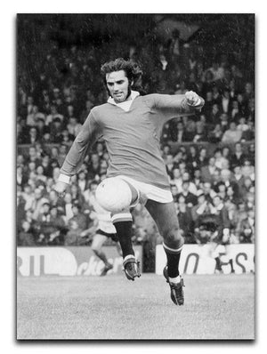 George Best Manchester United in 1971 Canvas Print or Poster  - Canvas Art Rocks - 1