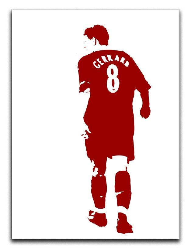 Gerrard Pop Art Canvas Print or Poster