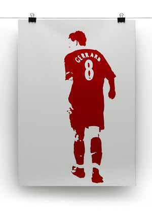 Gerrard Pop Art Canvas Print or Poster - Canvas Art Rocks - 2