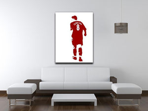 Gerrard Pop Art Canvas Print or Poster - Canvas Art Rocks - 4