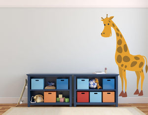 Giraffe Wall Sticker - Canvas Art Rocks - 1