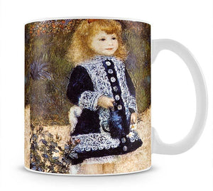 Girl with the Watering Can by Renoir Mug - Canvas Art Rocks - 1