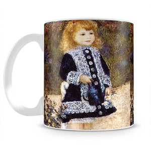 Girl with the Watering Can by Renoir Mug - Canvas Art Rocks - 2