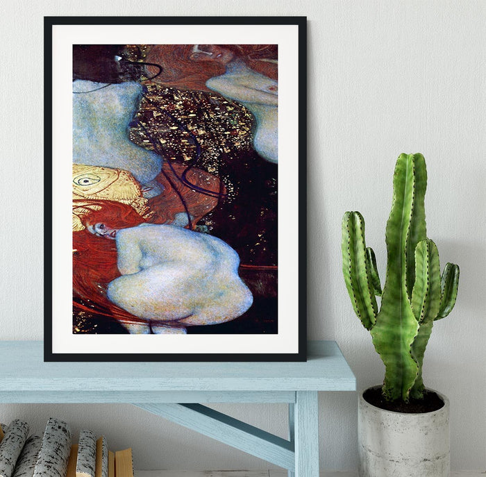 Goldfish by Klimt Framed Print