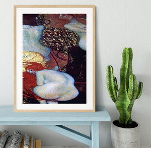 Goldfish by Klimt Framed Print - Canvas Art Rocks - 3