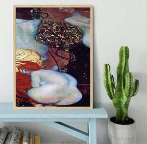 Goldfish by Klimt Framed Print - Canvas Art Rocks - 4