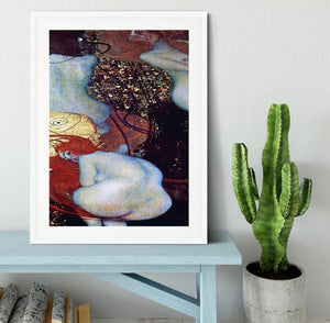 Goldfish by Klimt Framed Print - Canvas Art Rocks - 5