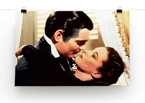 Gone With the Wind Print - Canvas Art Rocks - 2