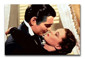 Gone With the Wind Print - Canvas Art Rocks - 1