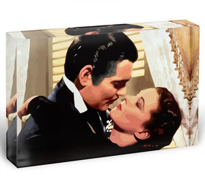 Gone With the Wind Acrylic Block - Canvas Art Rocks - 1