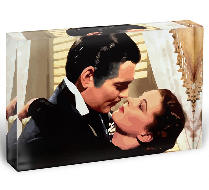 Gone With the Wind Acrylic Block