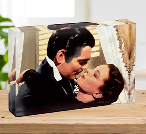 Gone With the Wind Acrylic Block - Canvas Art Rocks - 2