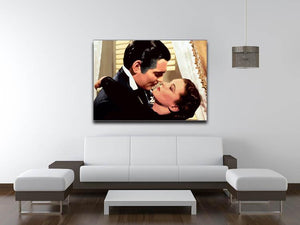 Gone With the Wind Canvas Print & Poster - Canvas Art Rocks