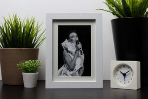 Grace Jones singing Framed Print - Canvas Art Rocks - 3