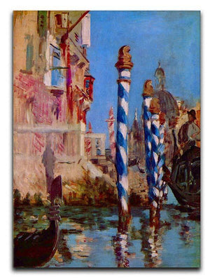 Grand Canal in Venice by Edouard Manet Canvas Print or Poster  - Canvas Art Rocks - 1