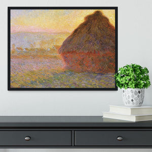 Graystacks by Monet Framed Print - Canvas Art Rocks - 2