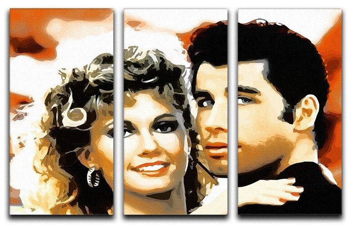Grease 3 Split Panel Canvas Print