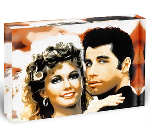 Grease Acrylic Block - Canvas Art Rocks - 1
