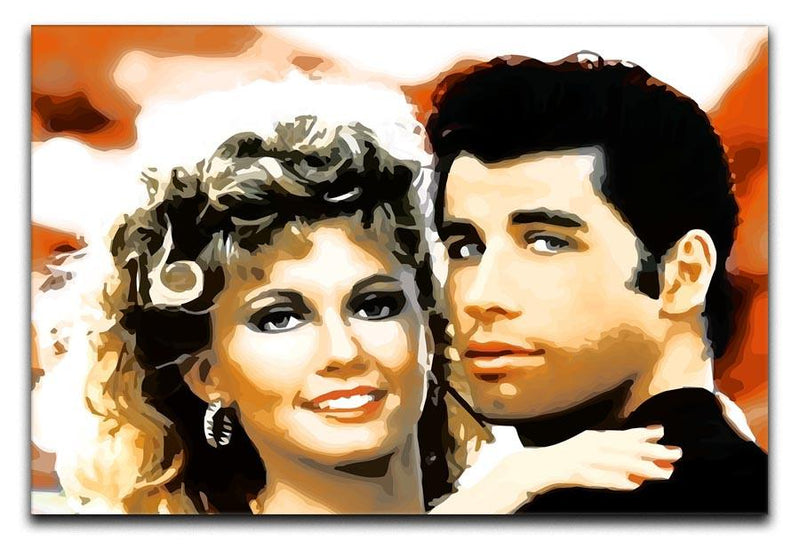 Grease Print - Canvas Art Rocks - 1