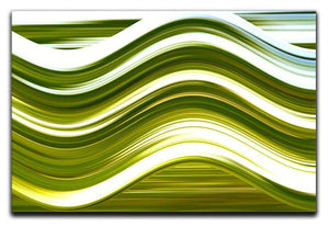 Green Wave Canvas Print or Poster - Canvas Art Rocks - 1
