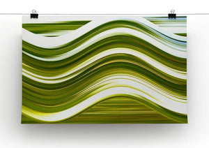Green Wave Canvas Print or Poster - Canvas Art Rocks - 2