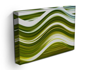 Green Wave Canvas Print or Poster - Canvas Art Rocks - 3