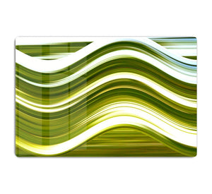 Green Wave HD Metal Print - Canvas Art Rocks - 1