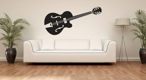 Guitar Wall Sticker - Canvas Art Rocks