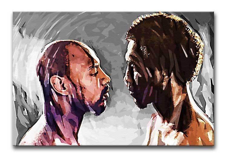 Marvin Hagler v Thomas Hearns Print - Canvas Art Rocks
