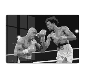 Hagler vs Hearns HD Metal Print