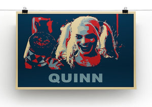 Harley Quinn Pop Art Canvas Print or Poster - Canvas Art Rocks - 2