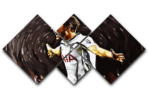 Harry Kane 4 Square Multi Panel Canvas  - Canvas Art Rocks - 1