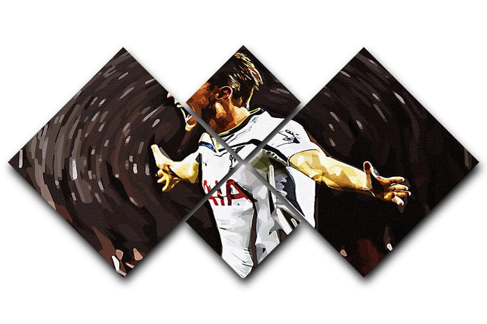 Harry Kane 4 Square Multi Panel Canvas