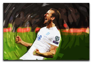 Harry Kane England Canvas Print or Poster  - Canvas Art Rocks - 1