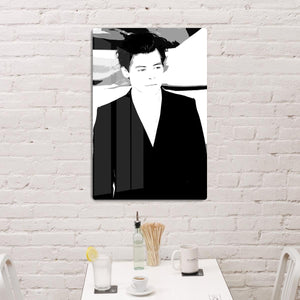 Harry Styles from One Direction Pop Art HD Metal Print