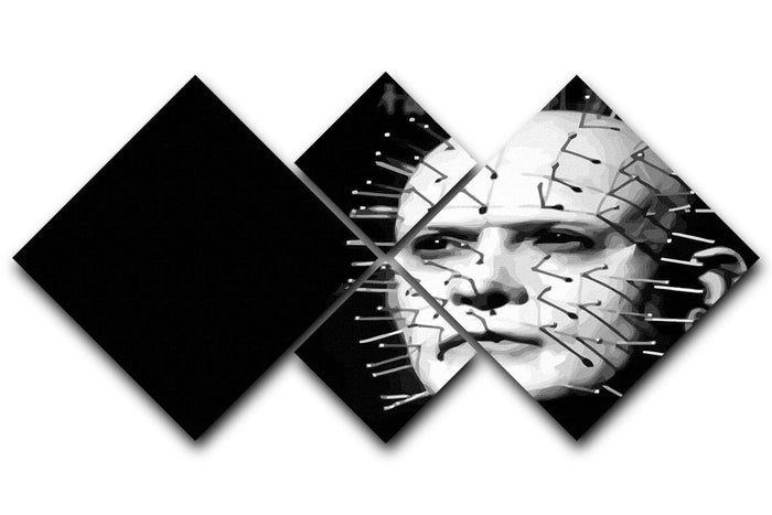 Hellraiser Pinhead 4 Square Multi Panel Canvas