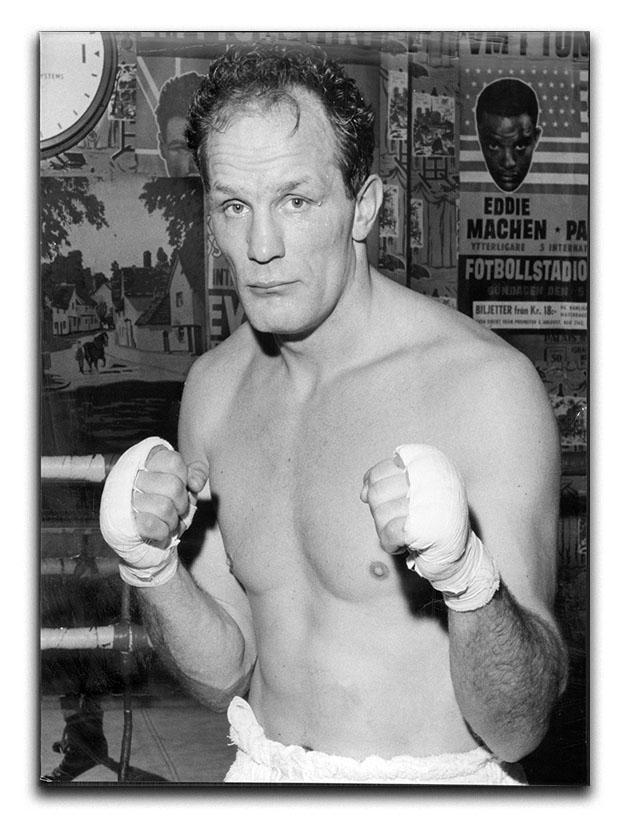 Henry Cooper boxer Canvas Print or Poster  - Canvas Art Rocks - 1