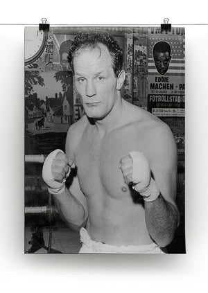 Henry Cooper boxer Canvas Print or Poster - Canvas Art Rocks - 2