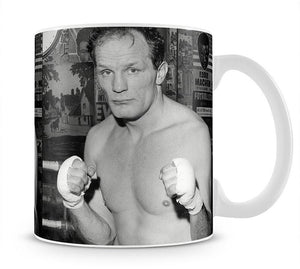Henry Cooper boxer Mug - Canvas Art Rocks - 1