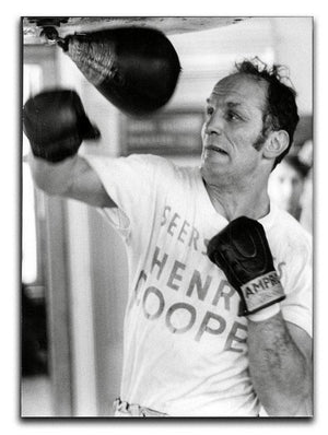 Henry Cooper in training Canvas Print or Poster  - Canvas Art Rocks - 1